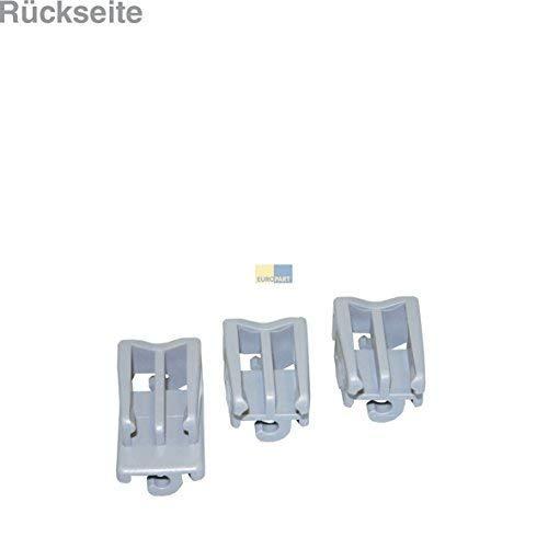 Bosch Siemens 418674/Original Set Bearing CLAMP BRACKET Klappstachelreihe Top Rack Dishwasher Dishwasher Dishwasher Suitable Also Source 02928612