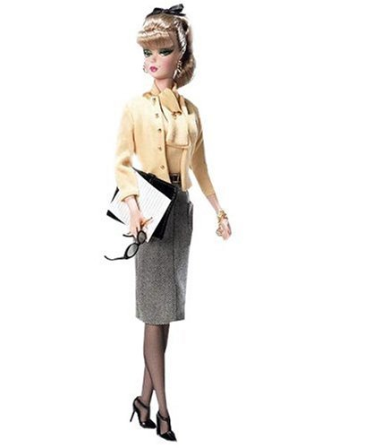 Mattel 2007 Silkstone Fashion Model The Secretary Barbie