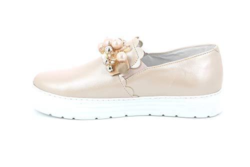 Grunland Cipria Pelle Donna Sneaker Rosa nIzrqIP0w