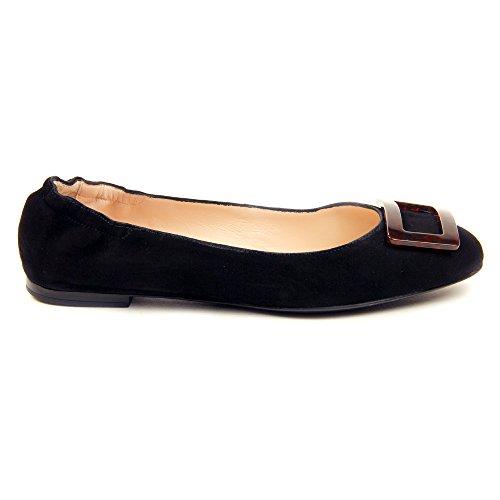 Sesto Meucci Womens 28439 Flats Shoes Black Suede 2RJiph