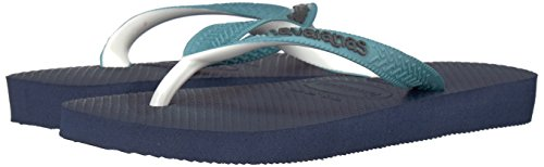 Havaianas Kid's Top Mix Sandal, Navy Blue/Mineral Blue 23/24 BR/Toddler (9 M US) - Image 6