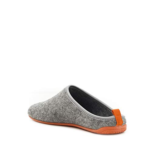 Por Estar Adulto orange Casa Fieltro Unisex Gris Zapatillas De Machado Andres qIT6RR