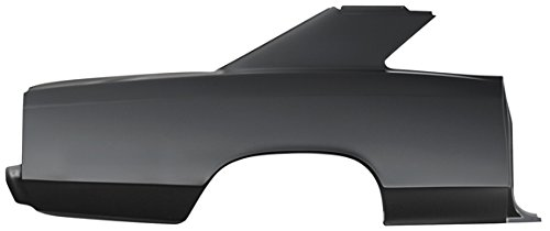 Impala Bob's 1966-67 Chevelle 2-Door Ht Right OEM Style Quarter Panel with Sail (Chevelle 2 Door Quarter Panel)