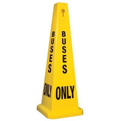 Buses Only Safety Cone 35'' by Emedco