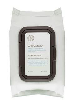 [La boutique du visage] Nettoyage de graines de Chia lingettes 50EA
