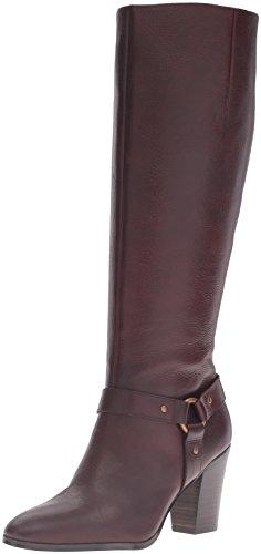High Heels Lauren (Lauren Ralph Lauren Women's Fareeda Boot, Tan Veg Tumbled Pull up, 8 B US)