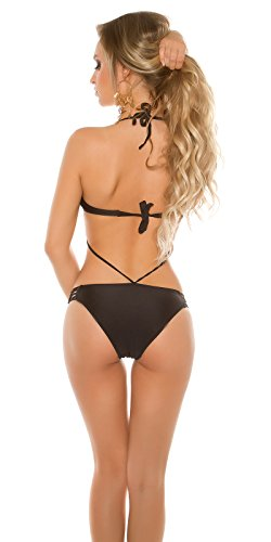 Look a like Bikini, schwarz