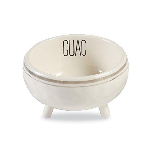 Mud Pie 4854075G Serving Bowl, White