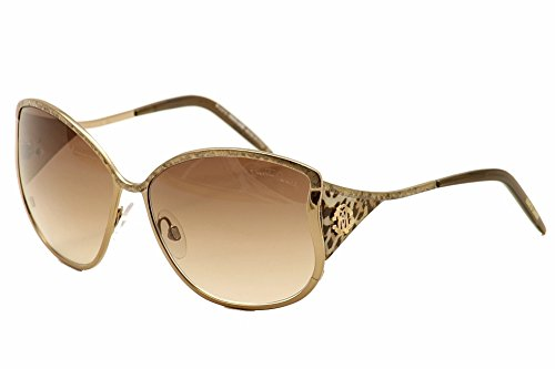Roberto Cavalli Sunglasses RC 671/S Bronze/Jaguar Effect 34F - Cavalli Glasses