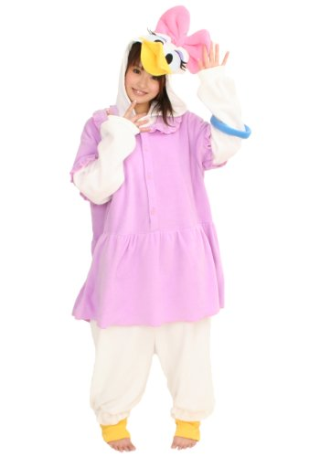 Donald And Daisy Costumes (Daisy Duck Kigurumi (Adults))