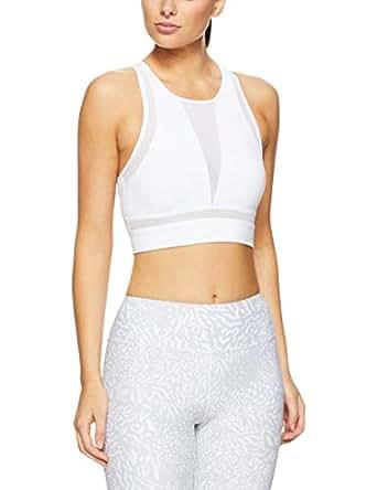 Lorna Jane Women's Refresh Long Line Sports Bra, White, L