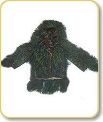 (Ghillie Suits SNIPER BDU JACKET - Medium-LongLeafy-Green)