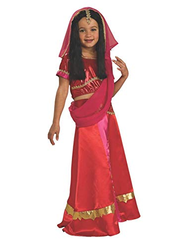 Rubie's Bollywood Princess Costume, Child's Medium ()