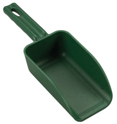 POLY PRO TOOLS P-6300G Polypropylene Hand Scoop, Green