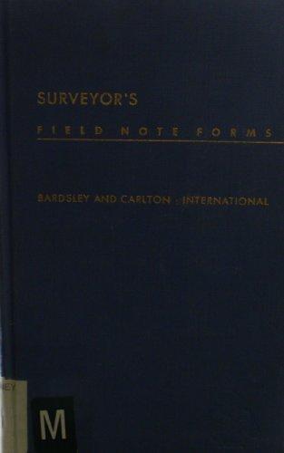Surveyor's Field-note Forms ()