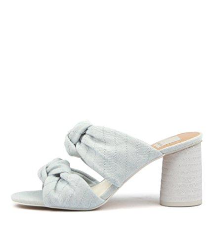 DOLCE VITA JENE Light Blue Womens Shoes High Heels Sandals Light Blue Denim