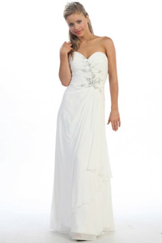 Fiory Naz Wedding Dresses FNJ-1157W-3XL Sweetheart neckline with beading detail til waistline (Neckline Sweetheart Beadings)