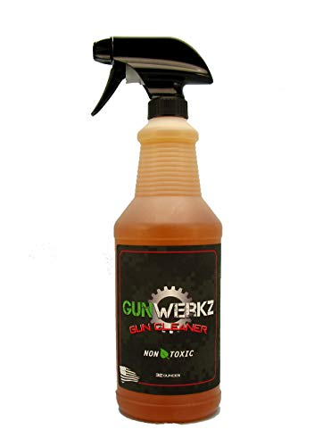 Fett Affen Technologies, Inc. Gun-Werkz 16 Ounce Non-Toxic Gun Cleaner That Is Non-Flammable, Has A Low Odor And Is Biodegradable (308 Ammo Winchester)