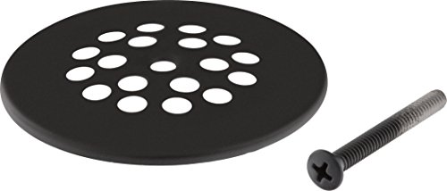 (Delta Faucet RP7430BL Dome Strainer with Screw, Matte Black, )