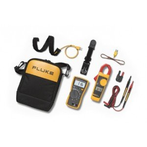 Fluke 116/323 116 True-RMS Digital Multimeter/323 True-RMS Clamp Meter HVAC Combo Kit-2PK by Fluke