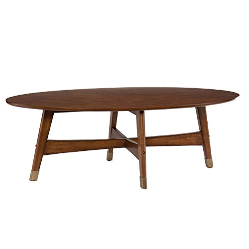Oval Coffee Table, Brown ()