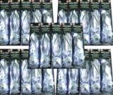 WHITE SPARKLE RIBBON 100 COUNT- LED LIGHT UP RIBBON LIGHT, BALLOON LIGHT; BULK 100 PACKS WHITE