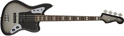 Fender Troy Sanders Signature Series Jaguar Bass - Rosewood Fingerboard - Silverburst ()