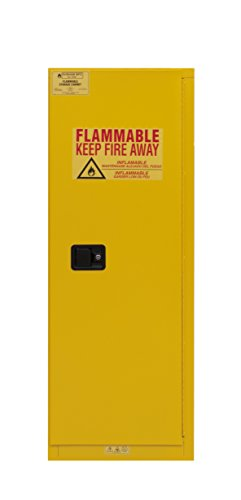Durham 1022M-50 Flammable Safety Cabinet, 1 Manual Door, 22 gal, 23