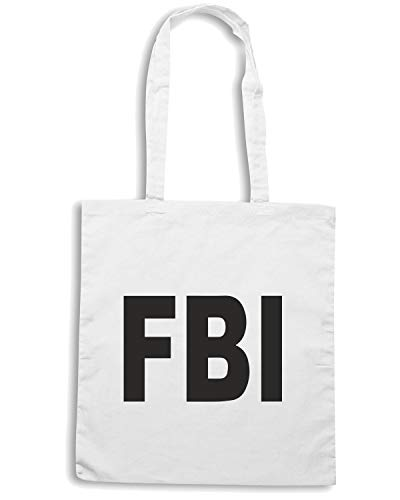 Speed Bianca TM0542 Borsa FBI Shirt Shopper 0rq04Rpw
