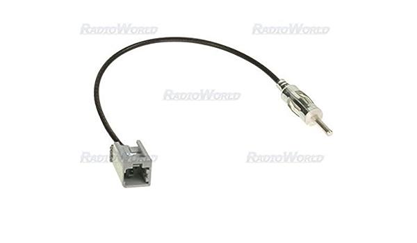 Kia Hyundai adaptador de antena de mástil de Antena Cable ISO ...