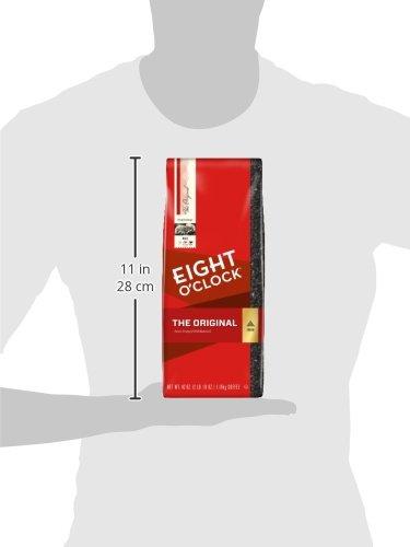 Eight O'Clock Ground Coffee, The Original, 42 Ounce