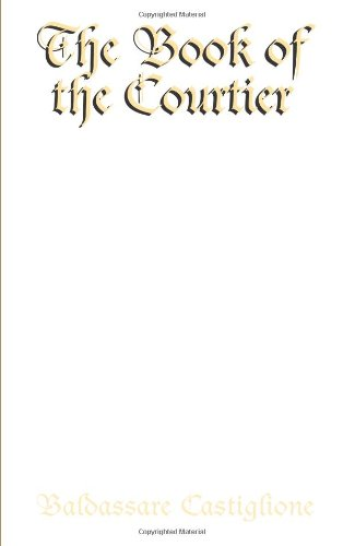 Book cover for The Book of the Courtier