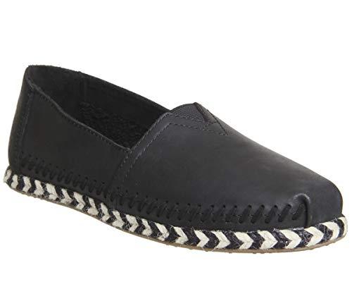 - TOMS Women's Seasonal Classics Black Leather 7.5 B US