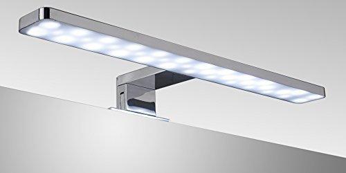APLIQUE DE BAÑO LED 38CM 7W LUZ BLANCA 6000K [Clase de eficiencia energética A] MOMENTUMBATH LED38