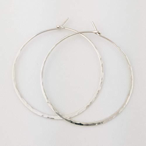 Round Hoop Classic Earrings - 1.5