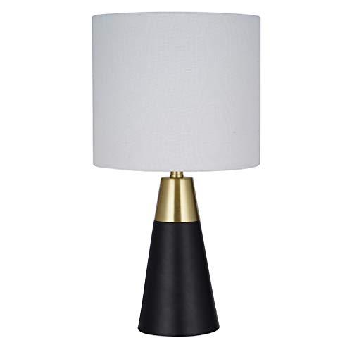 (Rivet Mid-Century Modern Table Lamp with Bulb, 13.63