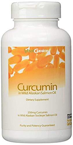 Vital Choice Curcumin in Wild Alaskan Salmon Oil - 250mg (120 ct)