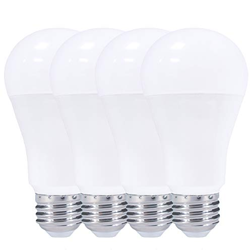 Bright LED A21 Dimmable LED Bulbs, 15W = 100W, 1350 Lumens, E26 Medium Base, UL & Energy Star Certified – 4 Pack (6000K White Daylight)