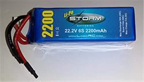 Storm LiPo 6S 22.2V 25C 2200mAh (ST6S25C2200)