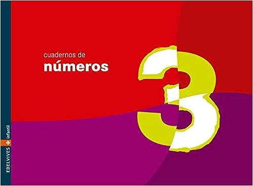 Cuaderno 3 de números (Infantil): Amazon.es: Equipo Edelvives: Libros
