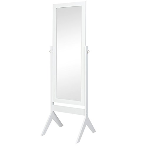 (Best Choice Products Standing Cheval Floor Mirror Bedroom Home Furniture)