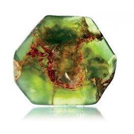 TS Pink Green Garnet SoapRocks - Soap that looks like a Rock ~ 6 oz. Gem Rocks Birthstone Jabón Gemstone