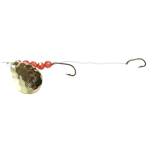 Northland Tackle Mr. Walleye Crawler Hauler Indiana Rig, Hex Gold, 5 Hook ()