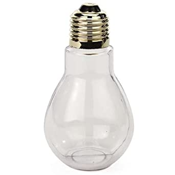 Amazoncom Creative Hobbies Clear Plastic Fillable Light Bulbs