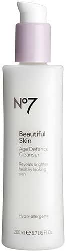 BOOTS No7 Beautiful Skin Age Defence Cleanser - 6.7 U.S. fl. oz. by Boots