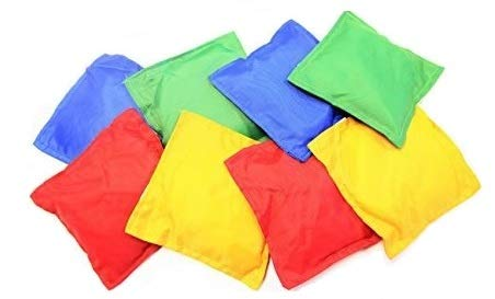 Oojami Nylon Bean Bags Toy Assorted (5 Inches by 5 Inches, 12 Piece) -