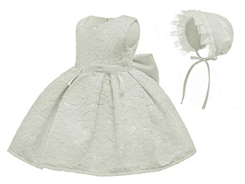Toddler Baby Girls Lace Christing Pageant Birthday Party Baptismal -