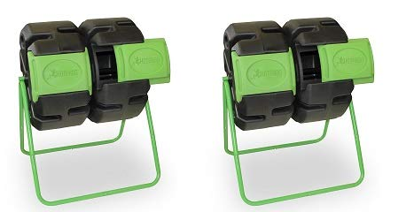 - FCMP Outdoor Dual Body Tumbling Composter by HOTFROG (2-(Pack))