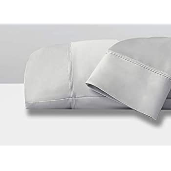 SHEEX Original Performance Pillowcases, Set of 2, Ultra-Soft Fabric Breathes Better Than Cotton (Standard, Pearl Blue)