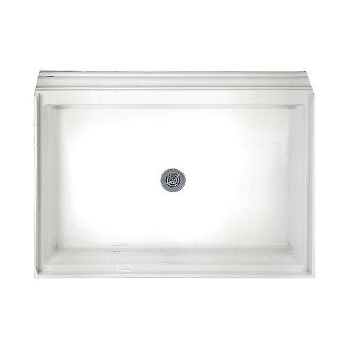 American Standard 6034ST.020 Single Threshold Shower Base, Integral Water Retention And Tiling Flange, Shower, White - American Standard Shower Base
